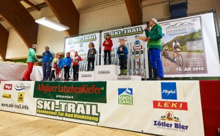 Skitrail Tannheimer Tal Bad Hindelang 2015, 24.01.2015, Tannheimer Tal, Austria (AUT): 