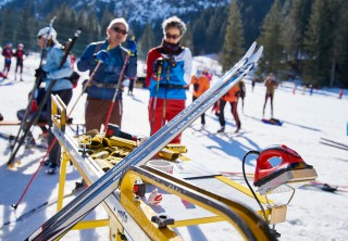 Ski Trail 2016, 30.01.2016, Tannheimer Tal, Austria (AUT) - Bad Hindelang, Germany (GER): Salomon feature  - Skitrail Tannheimertal, Bad Hindelang (GER). www.nordicfocus.com. © Felgenhauer/NordicFocus. Every downloaded picture is fee-liable.