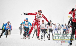 Ski Trail 2016, 31.01.2016, Tannheimer Tal, Austria (AUT) - Bad Hindelang, Germany (GER):Monica Niedermann (SUI) - Skitrail Tannheimertal, Bad Hindelang (GER). www.nordicfocus.com. © Felgenhauer/NordicFocus. Every downloaded picture is fee-liable.