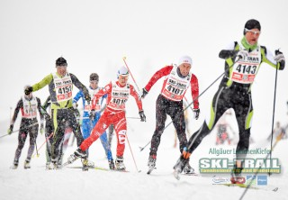 Ski Trail 2016, 31.01.2016, Tannheimer Tal, Austria (AUT) - Bad Hindelang, Germany (GER):Federica Simeoni (ITA) - Skitrail Tannheimertal, Bad Hindelang (GER). www.nordicfocus.com. © Felgenhauer/NordicFocus. Every downloaded picture is fee-liable.