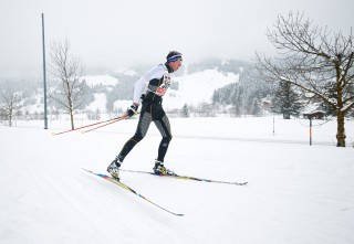 Skitrail Tannheimer Tal Bad Hindelang 2015, 25.01.2015, Tannheimer Tal, Austria (AUT): Manuel Sieber (GER)