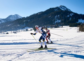 Ski Trail 2016, 30.01.2016, Tannheimer Tal, Austria (AUT) - Bad Hindelang, Germany (GER):Karen Messenger (CAN) - Skitrail Tannheimertal, Bad Hindelang (GER). www.nordicfocus.com. © Felgenhauer/NordicFocus. Every downloaded picture is fee-liable.