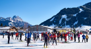 Ski Trail 2016, 30.01.2016, Tannheimer Tal, Austria (AUT) - Bad Hindelang, Germany (GER): crowded stadium in Tannheim  - Skitrail Tannheimertal, Bad Hindelang (GER). www.nordicfocus.com. © Felgenhauer/NordicFocus. Every downloaded picture is fee-liable.