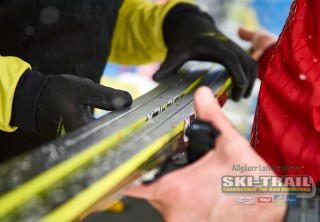 Ski Trail 2016, 31.01.2016, Tannheimer Tal, Austria (AUT) - Bad Hindelang, Germany (GER): Fischer skis prepared  - Skitrail Tannheimertal, Bad Hindelang (GER). www.nordicfocus.com. © Felgenhauer/NordicFocus. Every downloaded picture is fee-liable.