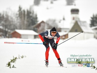 Ski Trail 2016, 31.01.2016, Tannheimer Tal, Austria (AUT) - Bad Hindelang, Germany (GER):Dani Raess (SUI) - Skitrail Tannheimertal, Bad Hindelang (GER). www.nordicfocus.com. © Felgenhauer/NordicFocus. Every downloaded picture is fee-liable.