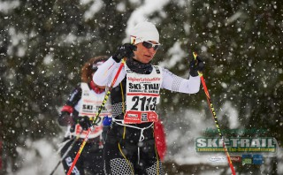 Ski Trail 2016, 31.01.2016, Tannheimer Tal, Austria (AUT) - Bad Hindelang, Germany (GER):Andrea Schlickenrieder (GER) - Skitrail Tannheimertal, Bad Hindelang (GER). www.nordicfocus.com. © Felgenhauer/NordicFocus. Every downloaded picture is fee-liable.