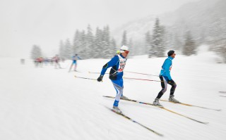 Skitrail Tannheimer Tal Bad Hindelang 2015, 25.01.2015, Tannheimer Tal, Austria (AUT): Walter Mayer (GER)