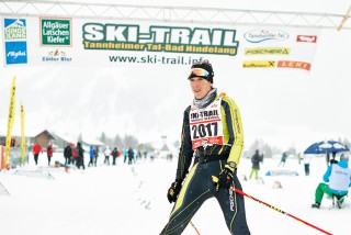 Skitrail Tannheimer Tal Bad Hindelang 2015, 25.01.2015, Tannheimer Tal, Austria (AUT): Sigrid Mutscheller (GER)