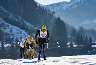 Ski Trail 2016, 30.01.2016, Tannheimer Tal, Austria (AUT) - Bad Hindelang, Germany (GER): Marc Ciha (GER), Steffen Haak (GER), (l-r)  - Skitrail Tannheimertal, Bad Hindelang (GER). www.nordicfocus.com. © Felgenhauer/NordicFocus. Every downloaded picture is fee-liable.