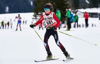 Ski Trail 2016, 30.01.2016, Tannheimer Tal, Austria (AUT) - Bad Hindelang, Germany (GER): kids race - Skitrail Tannheimertal, Bad Hindelang (GER). www.nordicfocus.com. © Felgenhauer/NordicFocus. Every downloaded picture is fee-liable.