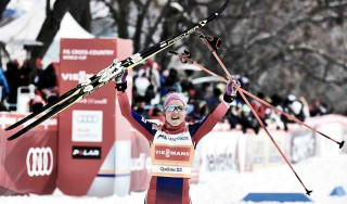 Wintersport, 02.03.2016, Montreal, Canada (CAN):Therese Johaug (NOR) - FIS world cup cross-country, mass women, Montreal (CAN). www.nordicfocus.com. © Felgenhauer/NordicFocus. Every downloaded picture is fee-liable.