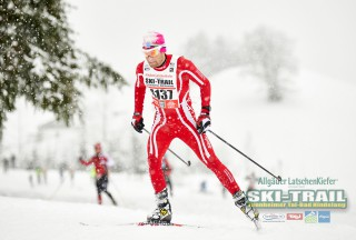 Ski Trail 2016, 31.01.2016, Tannheimer Tal, Austria (AUT) - Bad Hindelang, Germany (GER):Fausto Ciprian (ITA) - Skitrail Tannheimertal, Bad Hindelang (GER). www.nordicfocus.com. © Felgenhauer/NordicFocus. Every downloaded picture is fee-liable.