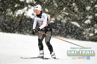 Ski Trail 2016, 31.01.2016, Tannheimer Tal, Austria (AUT) - Bad Hindelang, Germany (GER): Andrea Schlickenrieder (GER)  - Skitrail Tannheimertal, Bad Hindelang (GER). www.nordicfocus.com. © Felgenhauer/NordicFocus. Every downloaded picture is fee-liable.