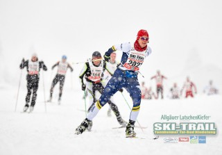 Ski Trail 2016, 31.01.2016, Tannheimer Tal, Austria (AUT) - Bad Hindelang, Germany (GER):Karen Messenger (CAN) - Skitrail Tannheimertal, Bad Hindelang (GER). www.nordicfocus.com. © Felgenhauer/NordicFocus. Every downloaded picture is fee-liable.