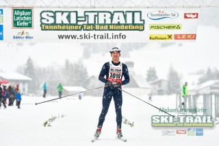 Ski Trail 2016, 31.01.2016, Tannheimer Tal, Austria (AUT) - Bad Hindelang, Germany (GER):Stefan Weiher (GER) - Skitrail Tannheimertal, Bad Hindelang (GER). www.nordicfocus.com. © Felgenhauer/NordicFocus. Every downloaded picture is fee-liable.