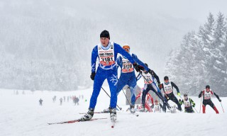 Skitrail Tannheimer Tal Bad Hindelang 2015, 25.01.2015, Tannheimer Tal, Austria (AUT): Kevin Metzler (GER)