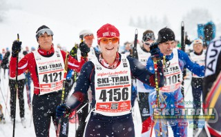 Ski Trail 2016, 31.01.2016, Tannheimer Tal, Austria (AUT) - Bad Hindelang, Germany (GER): happy faces  - Skitrail Tannheimertal, Bad Hindelang (GER). www.nordicfocus.com. © Felgenhauer/NordicFocus. Every downloaded picture is fee-liable.
