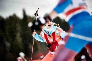 Wintersport, 05.12.2015, Lillehammer, Norway (NOR): Isabel Knauthe (GER)  - FIS world cup cross-country, skiathlon men, Lillehammer (NOR). www.nordicfocus.com. © Felgenhauer/NordicFocus. Every downloaded picture is fee-liable.
