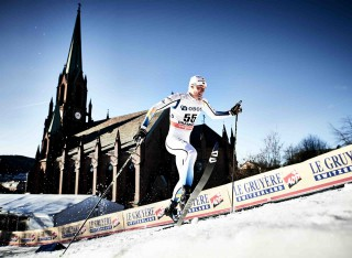 Wintersport, 03.02.2016, Drammen, Norway (NOR):Karl-Johan Westberg (SWE) - FIS world cup cross-country, individual sprint, Drammen (NOR). www.nordicfocus.com. © Felgenhauer/NordicFocus. Every downloaded picture is fee-liable.