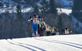 Ski Trail 2016, 30.01.2016, Tannheimer Tal, Austria (AUT) - Bad Hindelang, Germany (GER): Eric Thomas (GER) - Skitrail Tannheimertal, Bad Hindelang (GER). www.nordicfocus.com. © Felgenhauer/NordicFocus. Every downloaded picture is fee-liable.