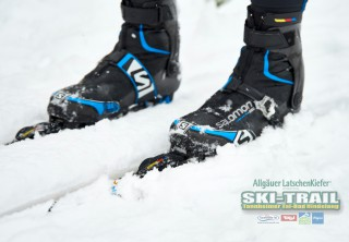 Ski Trail 2016, 31.01.2016, Tannheimer Tal, Austria (AUT) - Bad Hindelang, Germany (GER): Salomon skis and boots, ready to race  - Skitrail Tannheimertal, Bad Hindelang (GER). www.nordicfocus.com. © Felgenhauer/NordicFocus. Every downloaded picture is fee-liable.