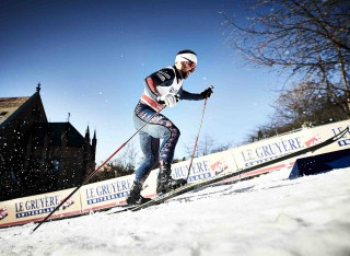 Wintersport, 03.02.2016, Drammen, Norway (NOR):Dakota Blickhorse-Von Jess (USA) - FIS world cup cross-country, individual sprint, Drammen (NOR). www.nordicfocus.com. © Felgenhauer/NordicFocus. Every downloaded picture is fee-liable.
