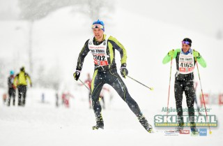 Ski Trail 2016, 31.01.2016, Tannheimer Tal, Austria (AUT) - Bad Hindelang, Germany (GER):Toni Escher (GER) - Skitrail Tannheimertal, Bad Hindelang (GER). www.nordicfocus.com. © Felgenhauer/NordicFocus. Every downloaded picture is fee-liable.