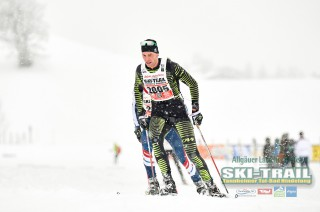 Ski Trail 2016, 31.01.2016, Tannheimer Tal, Austria (AUT) - Bad Hindelang, Germany (GER):Barbara Haesch (GER) - Skitrail Tannheimertal, Bad Hindelang (GER). www.nordicfocus.com. © Felgenhauer/NordicFocus. Every downloaded picture is fee-liable.