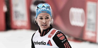Wintersport, 09.01.2016, Val di Fiemme, Italy (ITA):Stefanie Boehler (GER) - FIS world cup cross-country, tour de ski, mass women, Val di Fiemme (ITA). www.nordicfocus.com. © Felgenhauer/NordicFocus. Every downloaded picture is fee-liable.