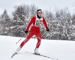 Skitrail Tannheimer Tal Bad Hindelang 2015, 25.01.2015, Tannheimer Tal, Austria (AUT): Regina Genser (GER)