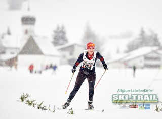 Ski Trail 2016, 31.01.2016, Tannheimer Tal, Austria (AUT) - Bad Hindelang, Germany (GER):Katharina Gattermann (GER)  - Skitrail Tannheimertal, Bad Hindelang (GER). www.nordicfocus.com. © Felgenhauer/NordicFocus. Every downloaded picture is fee-liable.