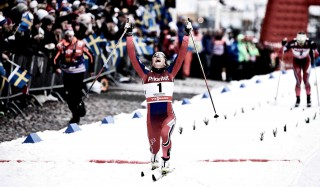 Wintersport, 11.02.2016, Stockholm, Sweden (SWE):Maiken Caspersen Falla (NOR) - FIS world cup cross-country, individual sprint, Stockholm (SWE). www.nordicfocus.com. © Felgenhauer/NordicFocus. Every downloaded picture is fee-liable.