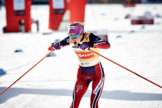 Wintersport, 12.12.2015, Davos, Switzerland (SUI):Therese Johaug (NOR) - FIS world cup cross-country, 15km women, Davos (SUI). www.nordicfocus.com. © Felgenhauer/NordicFocus. Every downloaded picture is fee-liable.