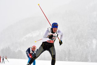 Skitrail Tannheimer Tal Bad Hindelang 2015, 25.01.2015, Tannheimer Tal, Austria (AUT): Kay Helfricht (GER)