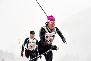Skitrail Tannheimer Tal Bad Hindelang 2015, 25.01.2015, Tannheimer Tal, Austria (AUT): Claudia Schmid (SUI)