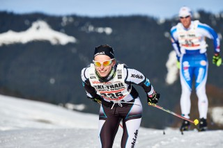 Ski Trail 2016, 30.01.2016, Tannheimer Tal, Austria (AUT) - Bad Hindelang, Germany (GER): Jessica Mueller (GER) - Skitrail Tannheimertal, Bad Hindelang (GER). www.nordicfocus.com. © Felgenhauer/NordicFocus. Every downloaded picture is fee-liable.