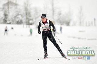 Ski Trail 2016, 31.01.2016, Tannheimer Tal, Austria (AUT) - Bad Hindelang, Germany (GER):Outi Kettunen-Walter (FIN) - Skitrail Tannheimertal, Bad Hindelang (GER). www.nordicfocus.com. © Felgenhauer/NordicFocus. Every downloaded picture is fee-liable.