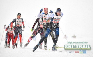 Ski Trail 2016, 31.01.2016, Tannheimer Tal, Austria (AUT) - Bad Hindelang, Germany (GER):Manuel Sieber (GER) - Skitrail Tannheimertal, Bad Hindelang (GER). www.nordicfocus.com. © Felgenhauer/NordicFocus. Every downloaded picture is fee-liable.