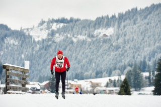 Skitrail Tannheimer Tal Bad Hindelang 2015, 24.01.2015, Tannheimer Tal, Austria (AUT) - Bad Hindelang, Germany (GER): slower racers on the track 