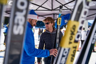 Ski Trail 2016, 30.01.2016, Tannheimer Tal, Austria (AUT) - Bad Hindelang, Germany (GER): Gerrit Glomser (GER) with Salomon skis  - Skitrail Tannheimertal, Bad Hindelang (GER). www.nordicfocus.com. © Felgenhauer/NordicFocus. Every downloaded picture is fee-liable.