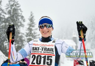 Ski Trail 2016, 31.01.2016, Tannheimer Tal, Austria (AUT) - Bad Hindelang, Germany (GER):Sabrina Schairer (AUT) - Skitrail Tannheimertal, Bad Hindelang (GER). www.nordicfocus.com. © Felgenhauer/NordicFocus. Every downloaded picture is fee-liable.